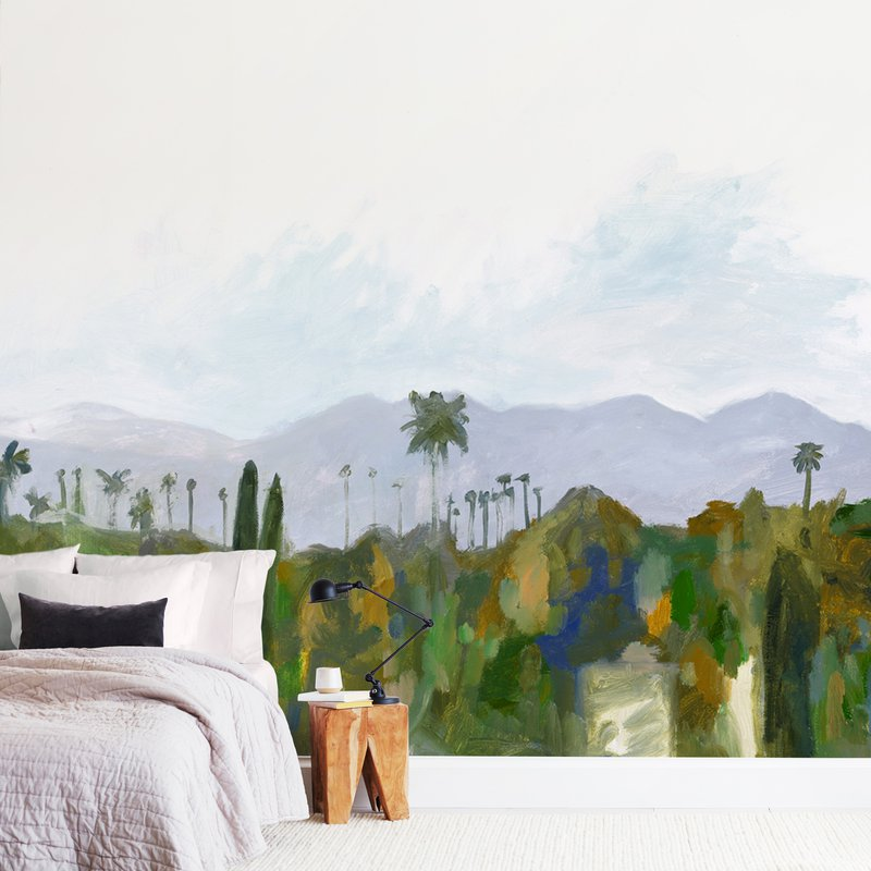 Los Angeles landscape Wall Murals