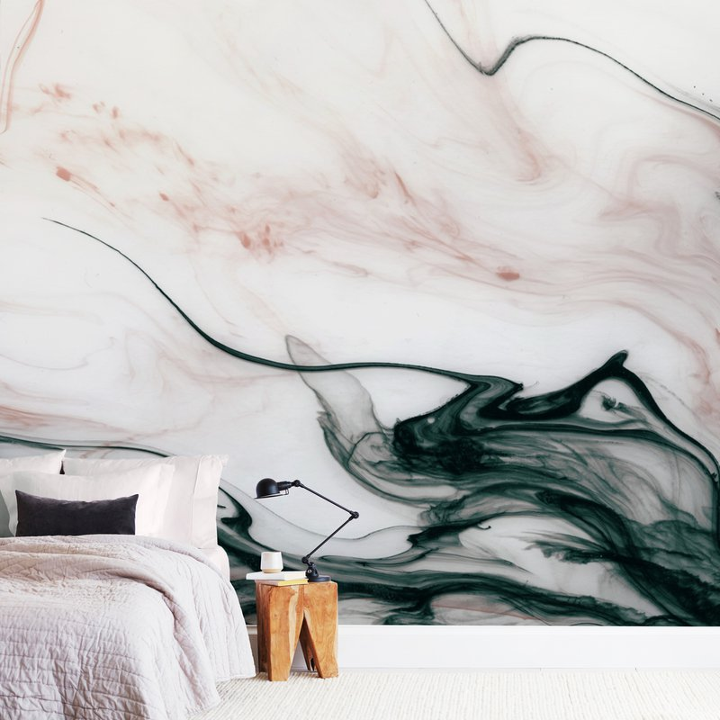 Ethereal Flow Wall Murals