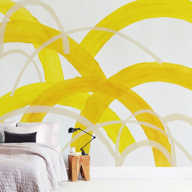 """""""Mountain Sunshine"""" - Non-custom Wall Murals by Christina Flowers in beautiful frame options and a variety of sizes."""