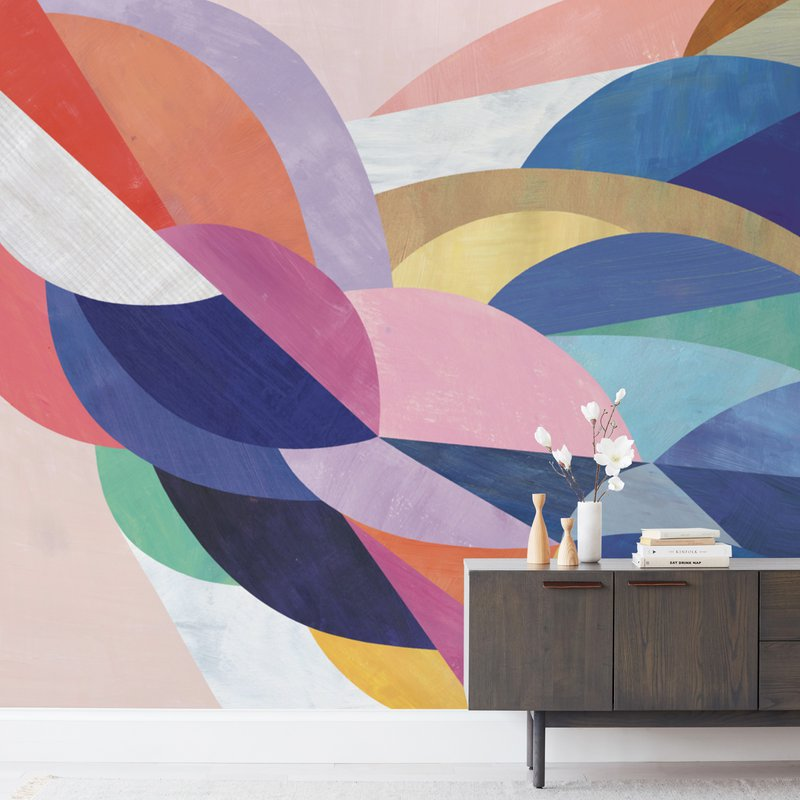 Architecture of Flow Wall Murals