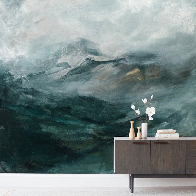 Ice Canyon Wall Murals