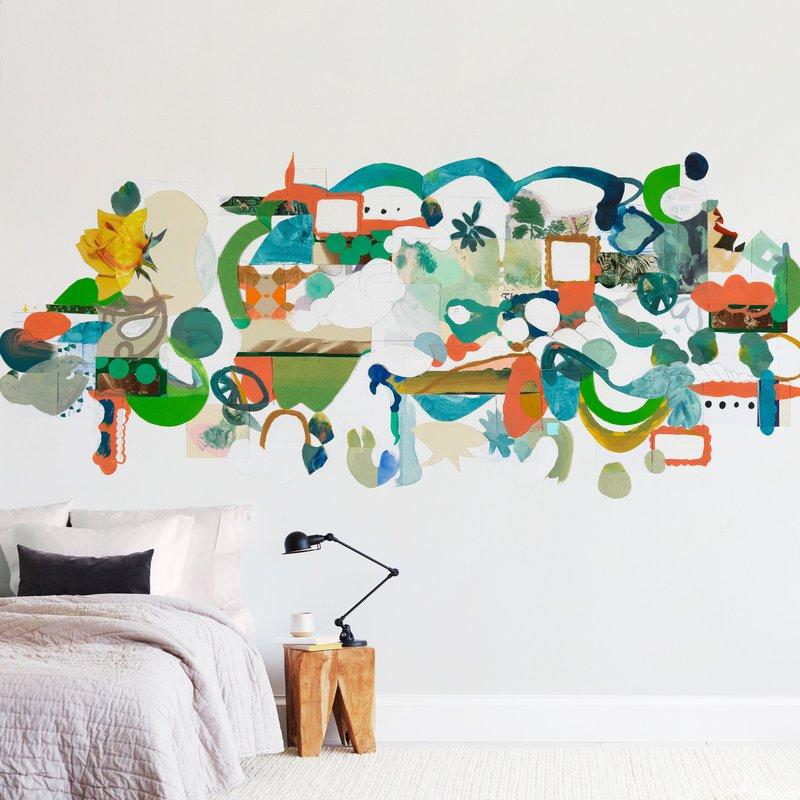 Green Hills Wall Murals