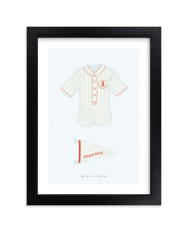 """""""Pastime"""" - Children's Custom Art Print by Tyler Tea in beautiful frame options and a variety of sizes."""