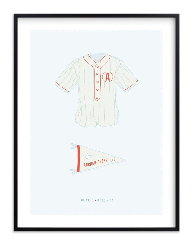 """Pastime"" - Children's Custom Art Print by Tyler Tea in beautiful frame options and a variety of sizes."
