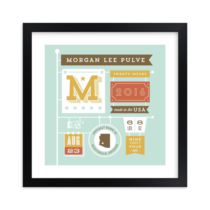 """""""Storybook Banner"""" - Children's Custom Art Print by Smudge Design in beautiful frame options and a variety of sizes."""