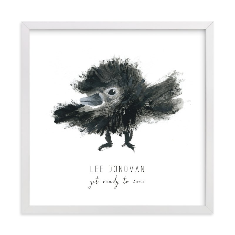 """""""Ready to Fly"""" - Children's Custom Art Print by Simona Camp in beautiful frame options and a variety of sizes."""