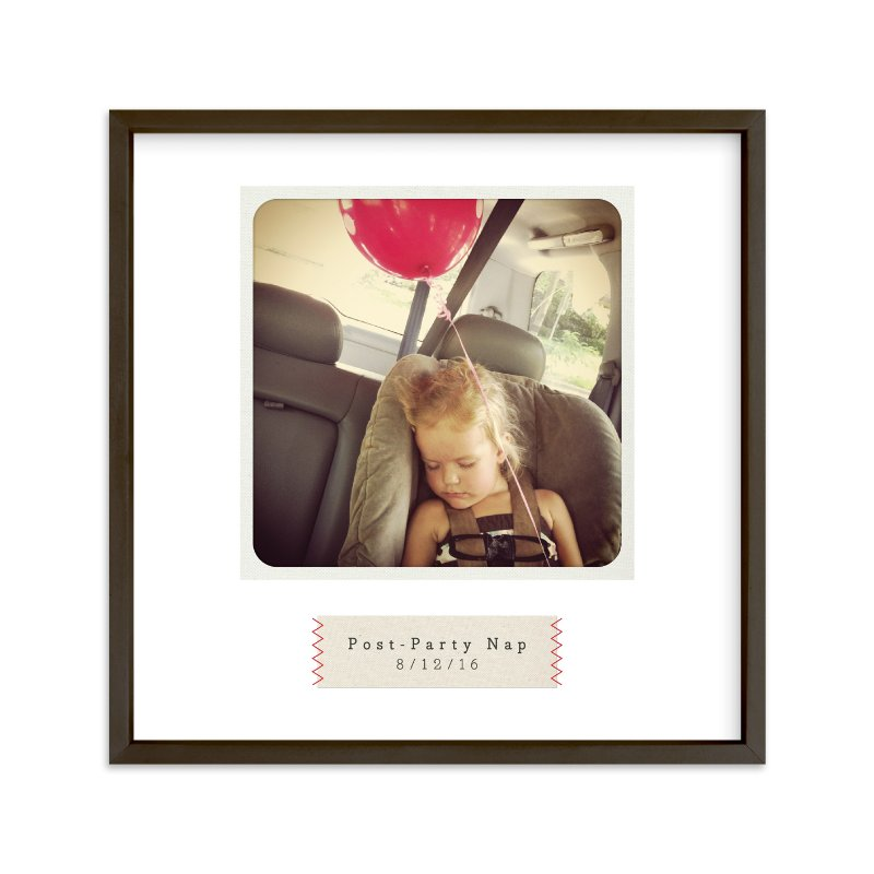 """Stitched"" - Children's Custom Photo Art Print by Alston Wise in beautiful frame options and a variety of sizes."