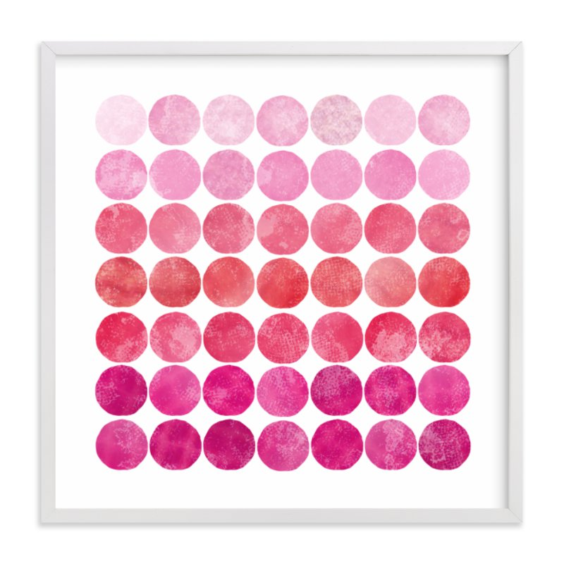 """""""Circles"""" - Limited Edition Art Print by Christine Copeland in beautiful frame options and a variety of sizes."""