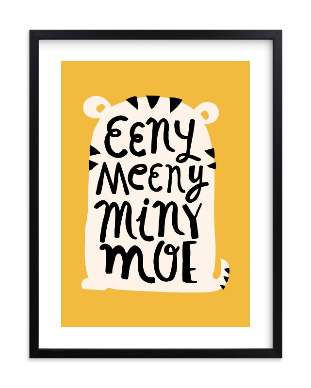 """Eeny Meeny"" - Limited Edition Art Print by Ariel Rutland in beautiful frame options and a variety of sizes."