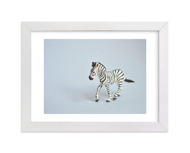Oh, Zebra Wall Art Prints by Kinga Subject | Minted