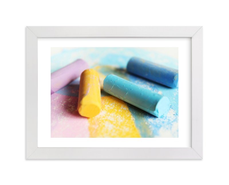 """Chalk It Up"" - Limited Edition Art Print by Karen Kaul in beautiful frame options and a variety of sizes."