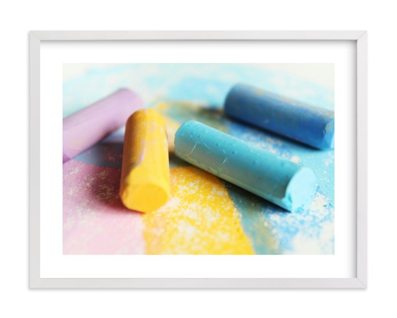 """""""Chalk It Up"""" - Limited Edition Art Print by Karen Kaul in beautiful frame options and a variety of sizes."""