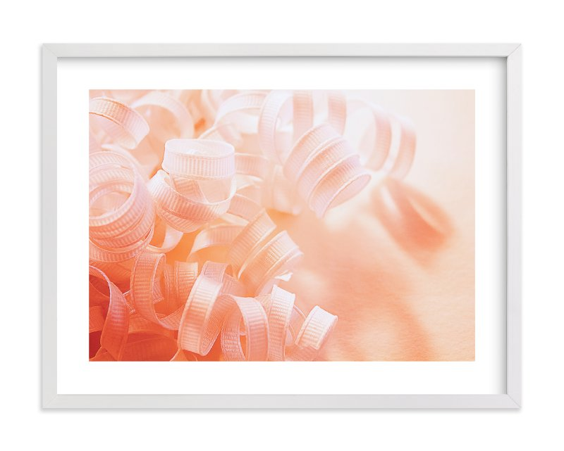"""Curly Ribbons"" - Limited Edition Art Print by Monica Janes Fine Art in beautiful frame options and a variety of sizes."