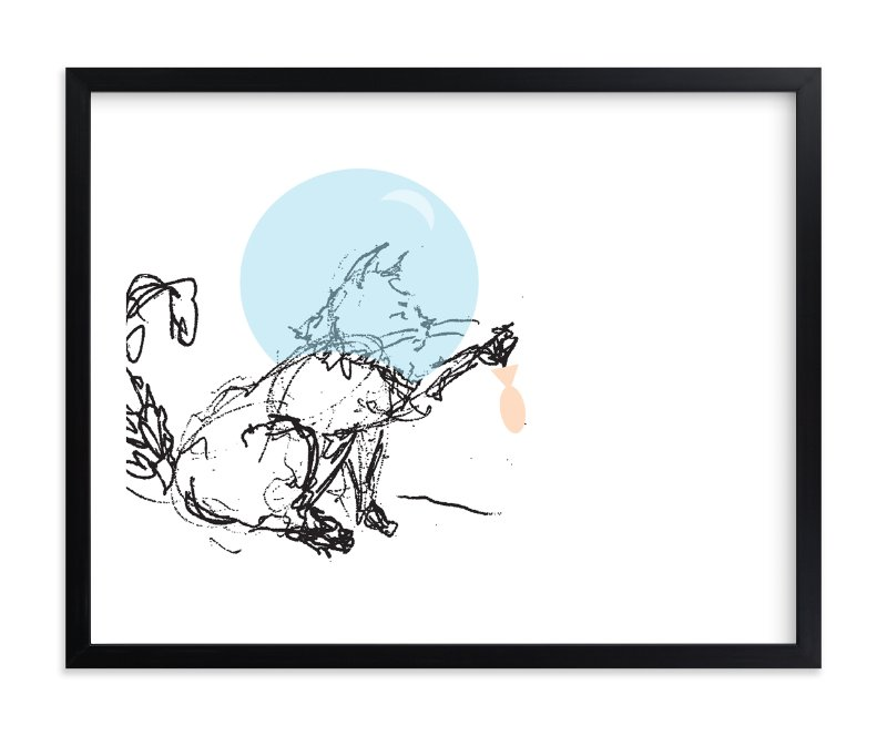 """i'm sorry"" - Limited Edition Art Print by Brittany Nikole in beautiful frame options and a variety of sizes."
