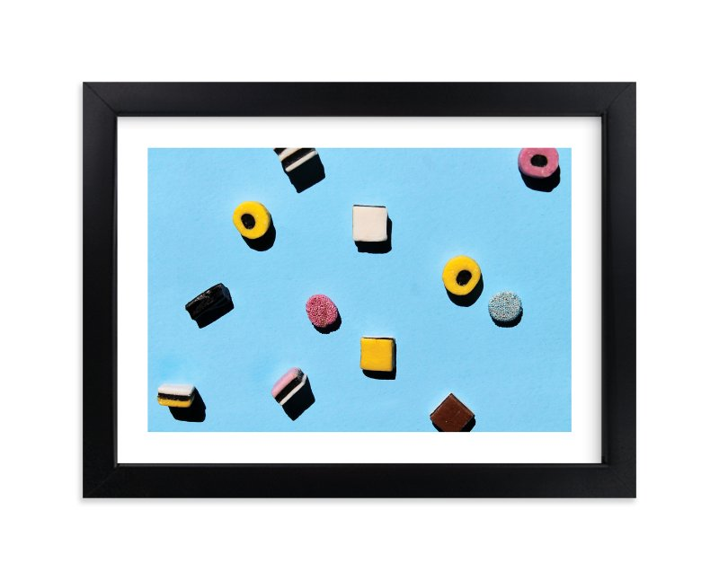 """""""Liquorice"""" - Limited Edition Art Print by Laura Garner in beautiful frame options and a variety of sizes."""