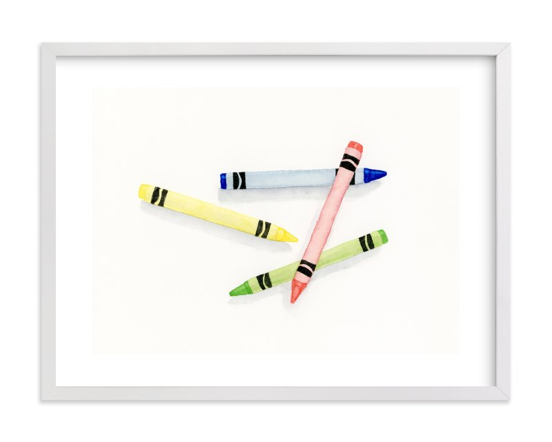 """""""Make Me A Picture"""" - Limited Edition Art Print by Michelle Waldie in beautiful frame options and a variety of sizes."""