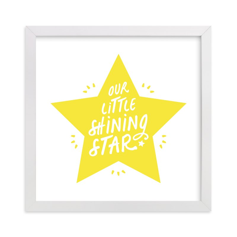 """""""Shining Star"""" - Limited Edition Art Print by Christina Novak in beautiful frame options and a variety of sizes."""