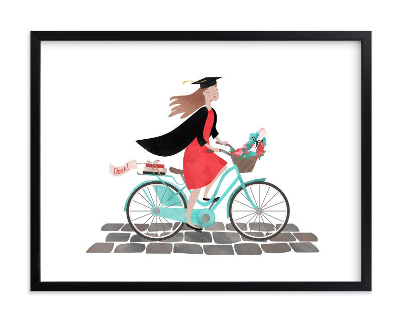 """Done!"" - Limited Edition Art Print by Alisa Hall in beautiful frame options and a variety of sizes."