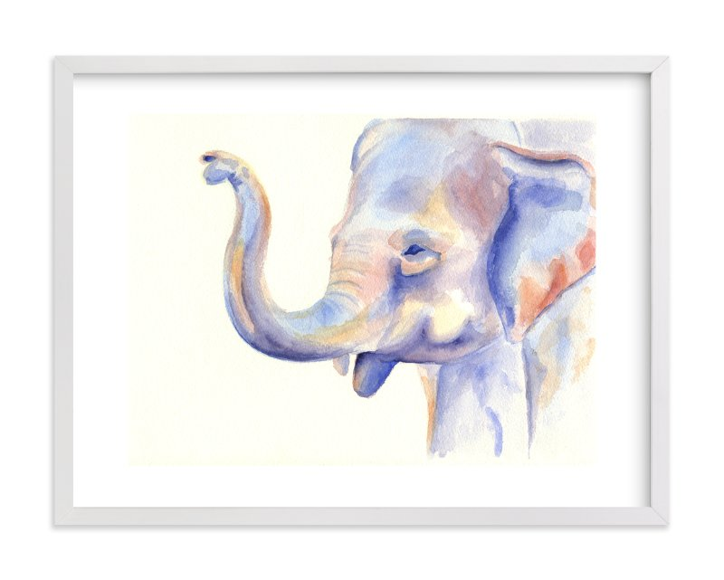 """Big and Little 2"" - Limited Edition Art Print by Stacey Brod in beautiful frame options and a variety of sizes."