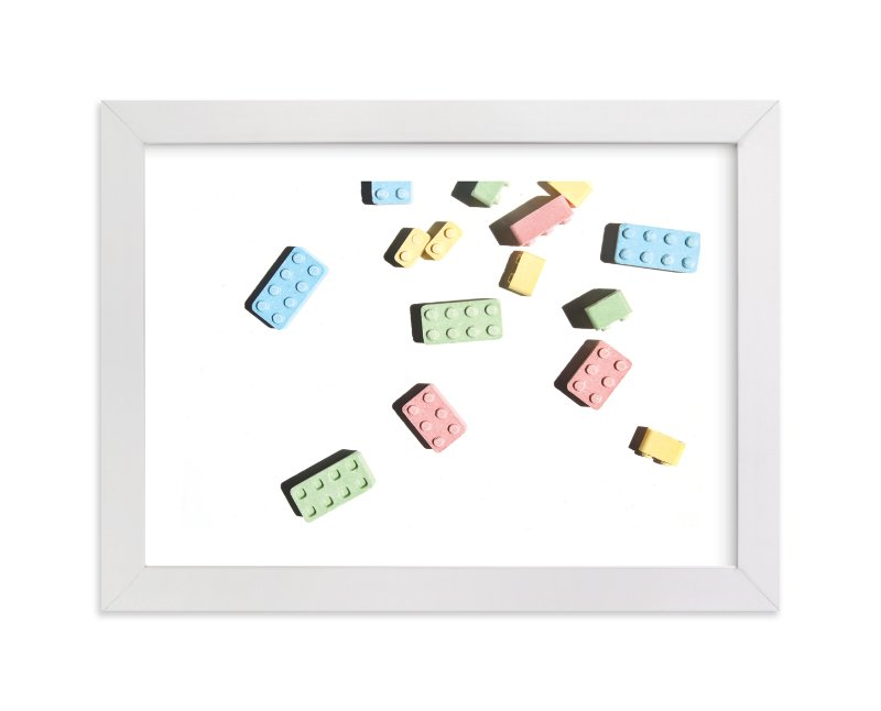 """Legoland"" - Limited Edition Art Print by Laura Garner in beautiful frame options and a variety of sizes."