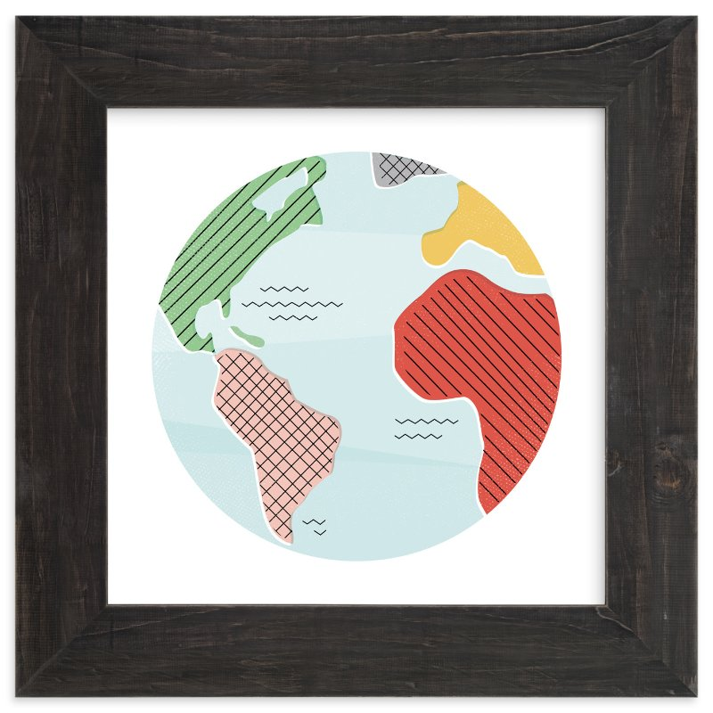 """Wonderful World"" - Limited Edition Art Print by Jessie Steury in beautiful frame options and a variety of sizes."