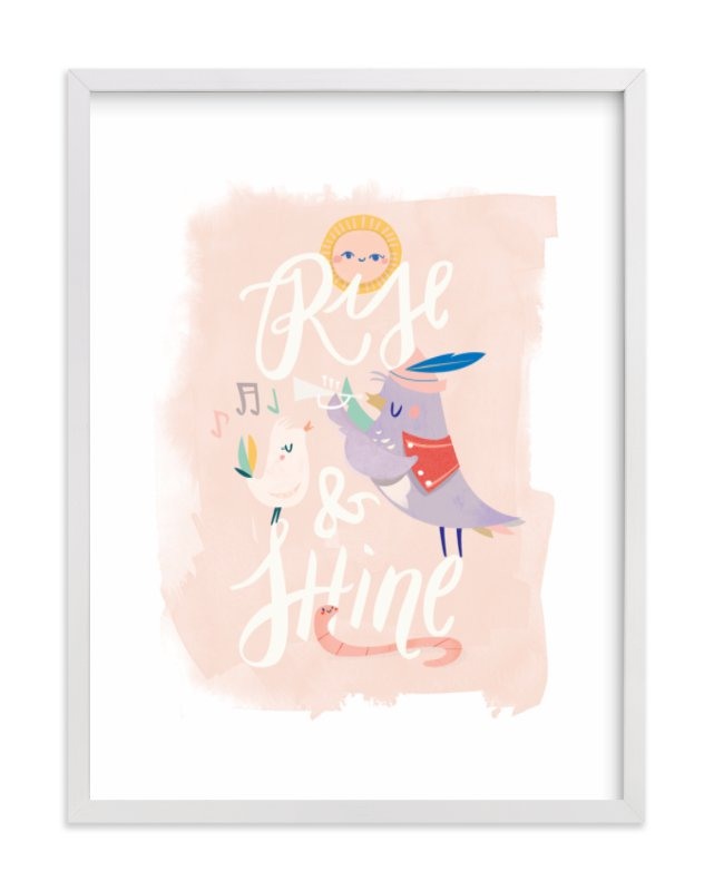 """Rise and Shine"" - Limited Edition Art Print by Lori Wemple in beautiful frame options and a variety of sizes."