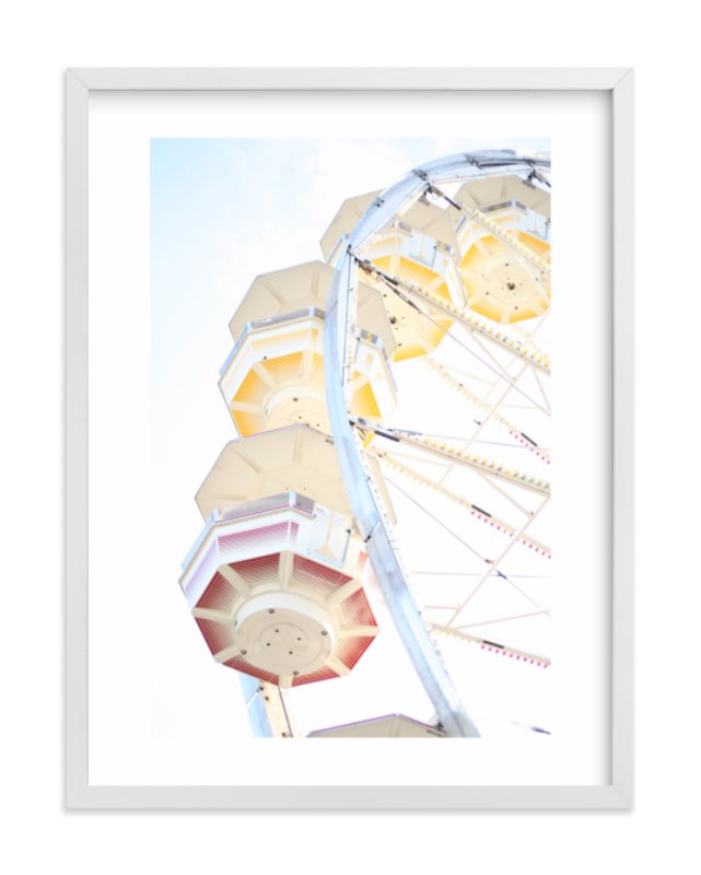 """""""Puyallup Merry Go Round"""" - Limited Edition Art Print by Sharon Rowan in beautiful frame options and a variety of sizes."""