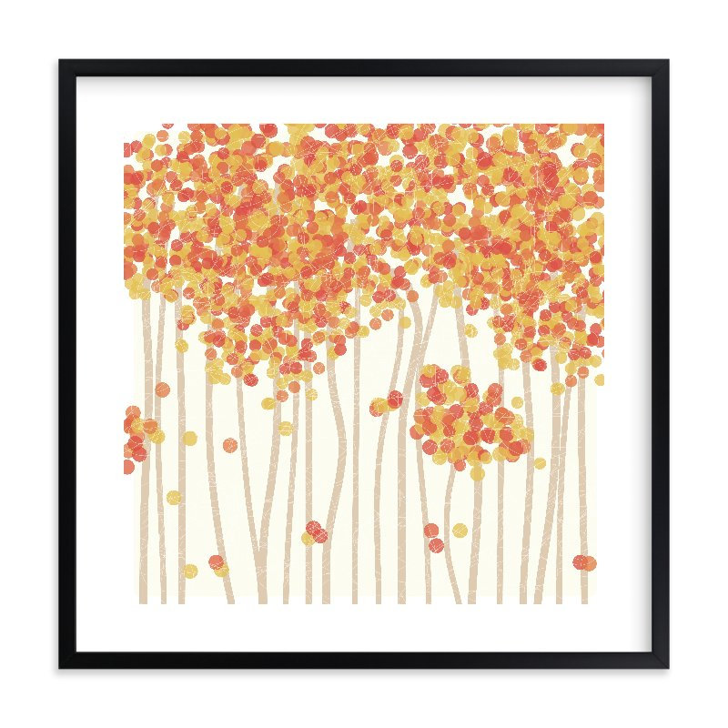 """""""Nature's Confetti"""" - Limited Edition Art Print by Inkblot Paper in beautiful frame options and a variety of sizes."""