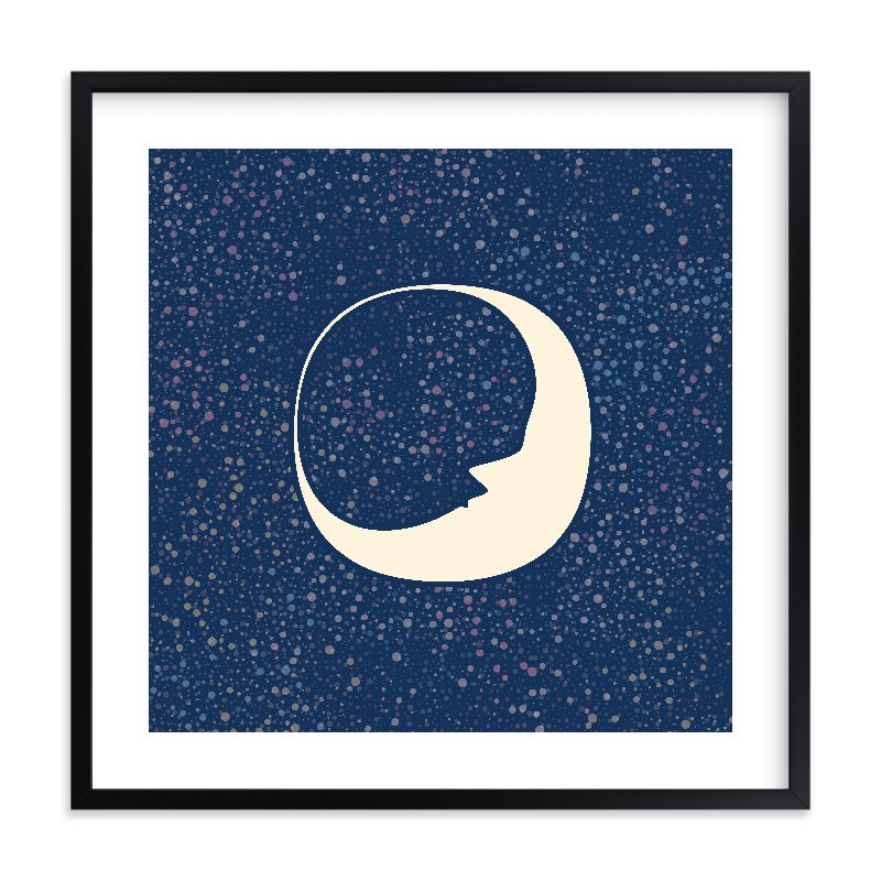 Celestial Moon Wall Art Prints by Katherine Morgan | Minted