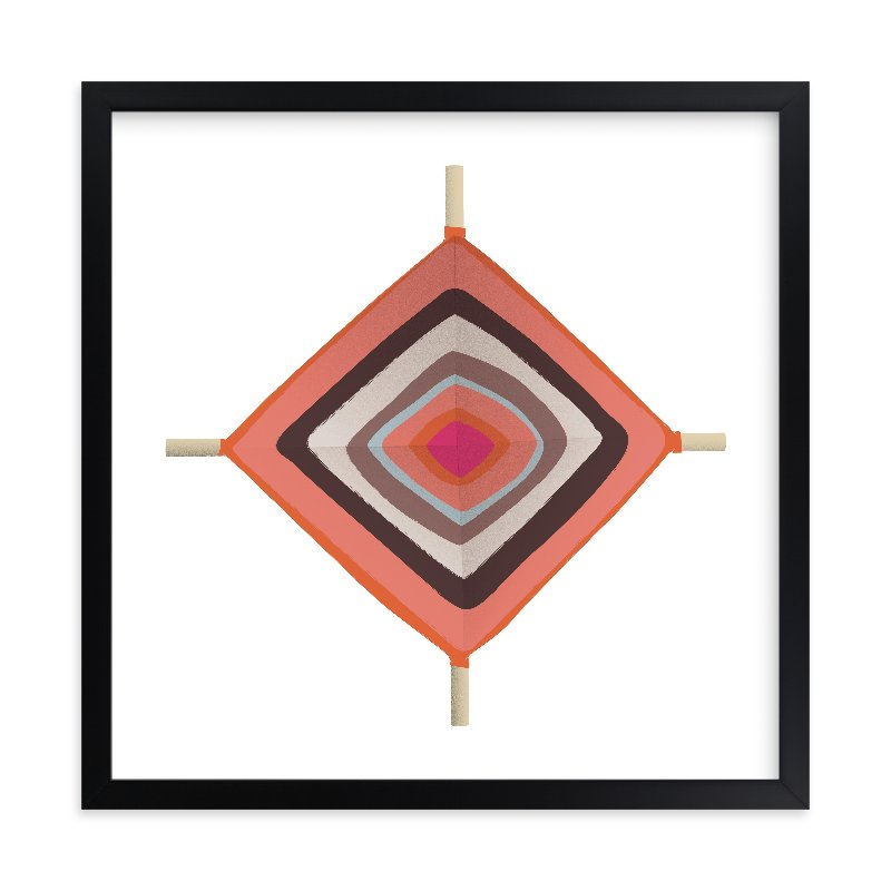 """""""Ojo"""" - Limited Edition Art Print by Yours Madly in beautiful frame options and a variety of sizes."""