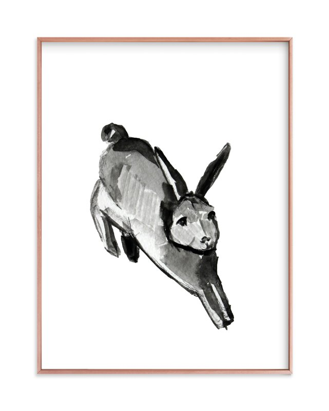 """""""Jump for Joy"""" - Limited Edition Art Print by Megan Leong in beautiful frame options and a variety of sizes."""