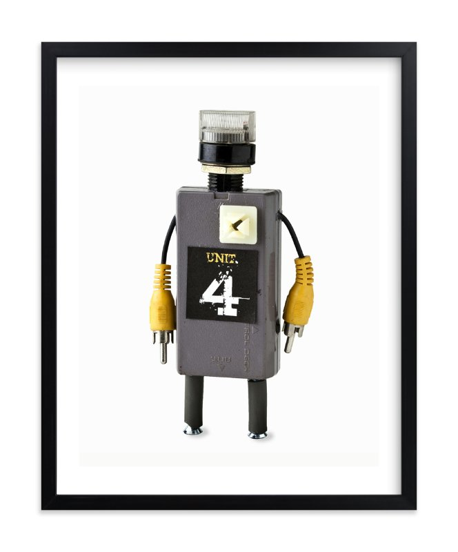 """""""Robot 3"""" - Limited Edition Art Print by russell stephanchick in beautiful frame options and a variety of sizes."""