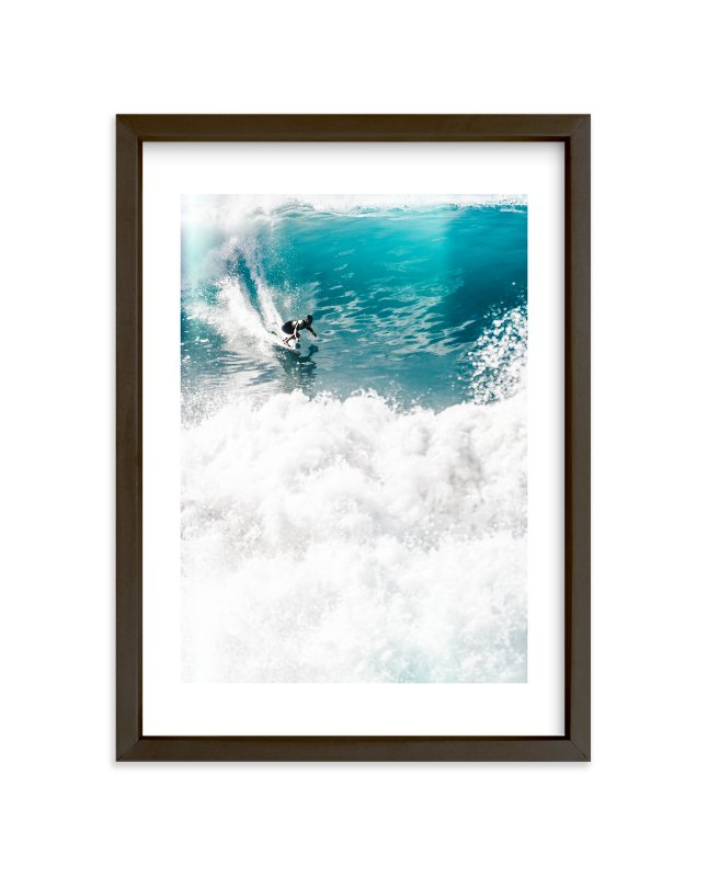 """SoCal Crush"" - Limited Edition Art Print by Kamala Nahas in beautiful frame options and a variety of sizes."