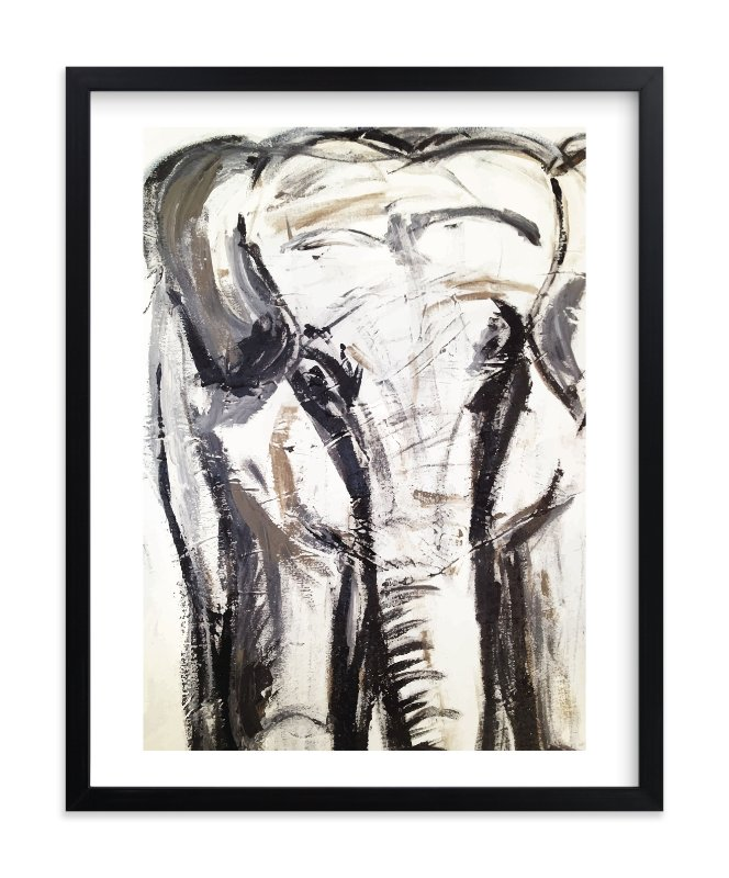 """""""In the Room II"""" - Limited Edition Art Print by Holly Royval in beautiful frame options and a variety of sizes."""