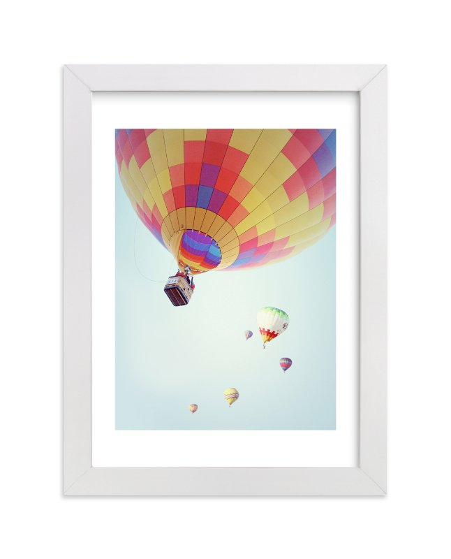 """Summer Sky"" - Limited Edition Art Print by Haley Warner in beautiful frame options and a variety of sizes."