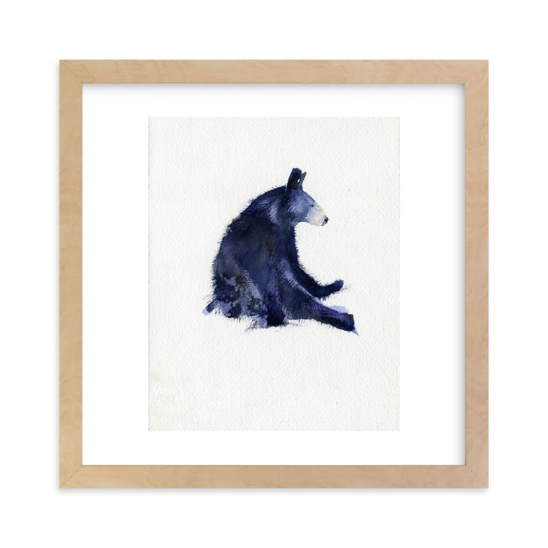 """""""The Thinker"""" - Limited Edition Art Print by Susie Stern in beautiful frame options and a variety of sizes."""