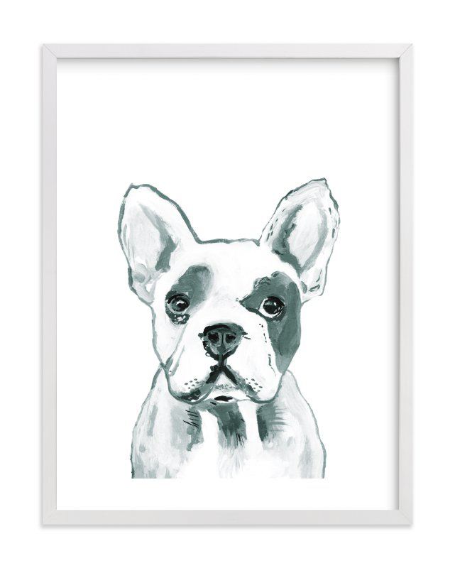 """""""Hey Mr. Dog"""" by Makewells in beautiful frame options and a variety of sizes."""