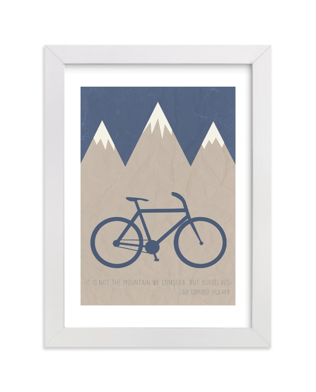 """""""Conquer"""" by Addison Welch in beautiful frame options and a variety of sizes."""