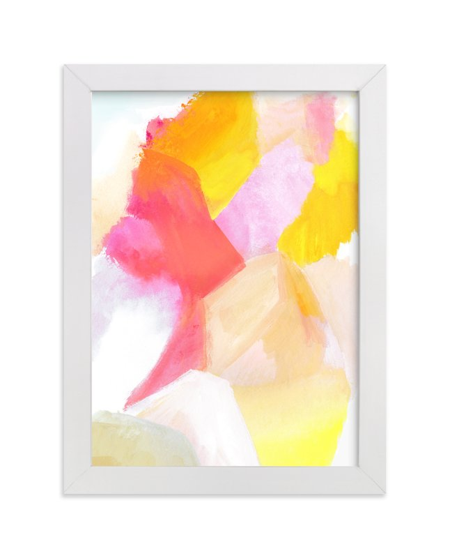 """Fragment 1"" - Art Print by Hooray Creative in beautiful frame options and a variety of sizes."