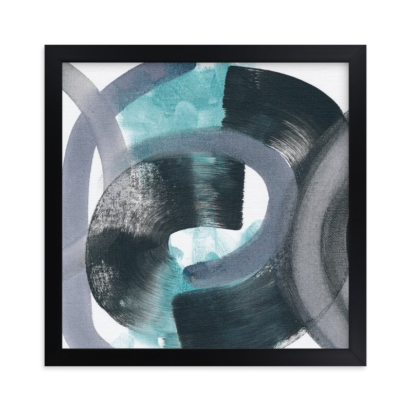 """""""Swimming with Caterpillars"""" - Art Print by Kim Johnson in beautiful frame options and a variety of sizes."""