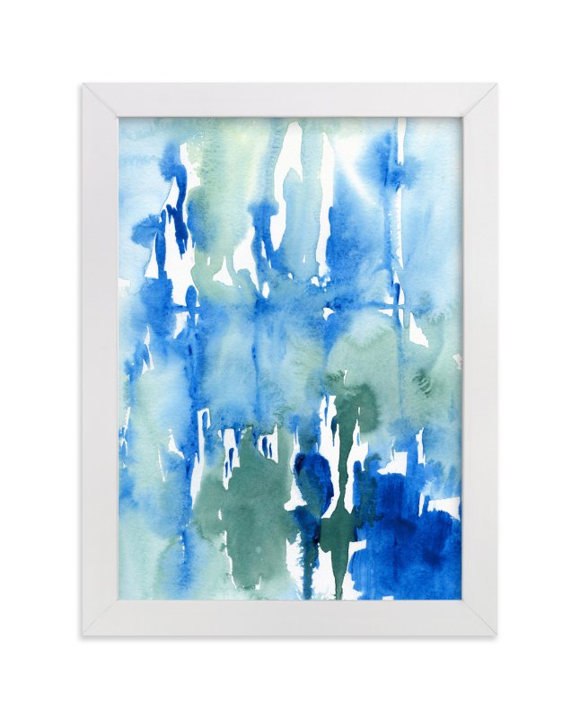 """""""Wash Away"""" - Art Print by Chelsey Scott in beautiful frame options and a variety of sizes."""