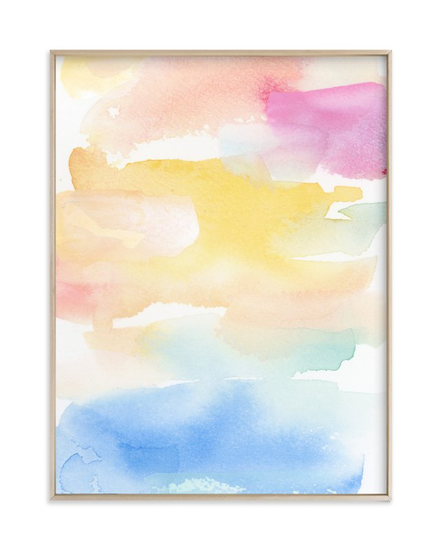 Coastal Sunset Wall Art Prints by Lindsay Megahed | Minted