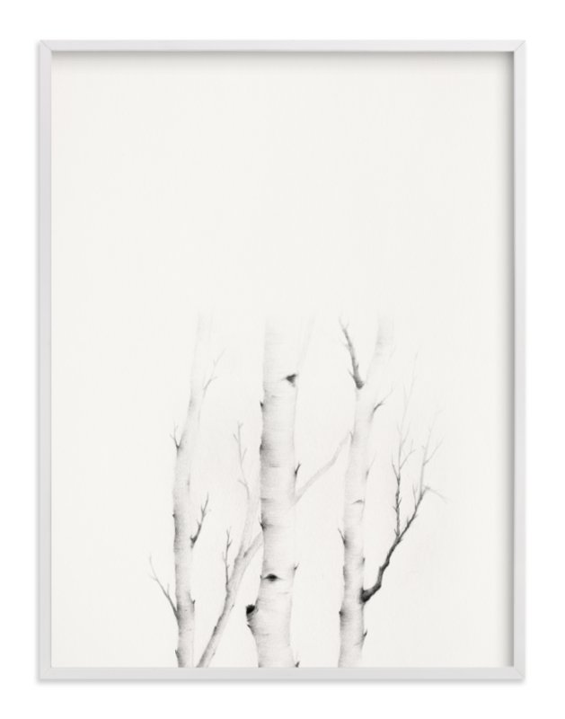 """""""Mytoi Tree 03"""" - Art Print by jinseikou in beautiful frame options and a variety of sizes."""