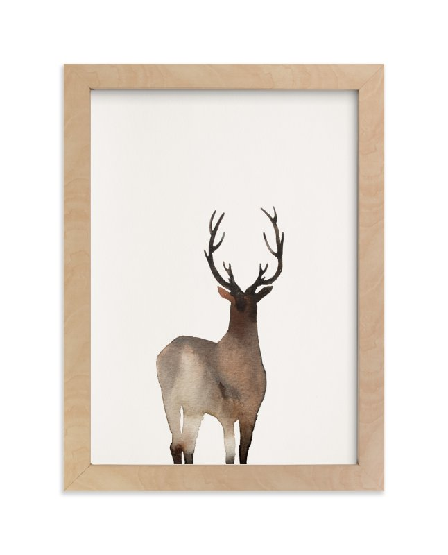 """""""Prancer """" - Art Print by jinseikou in beautiful frame options and a variety of sizes."""