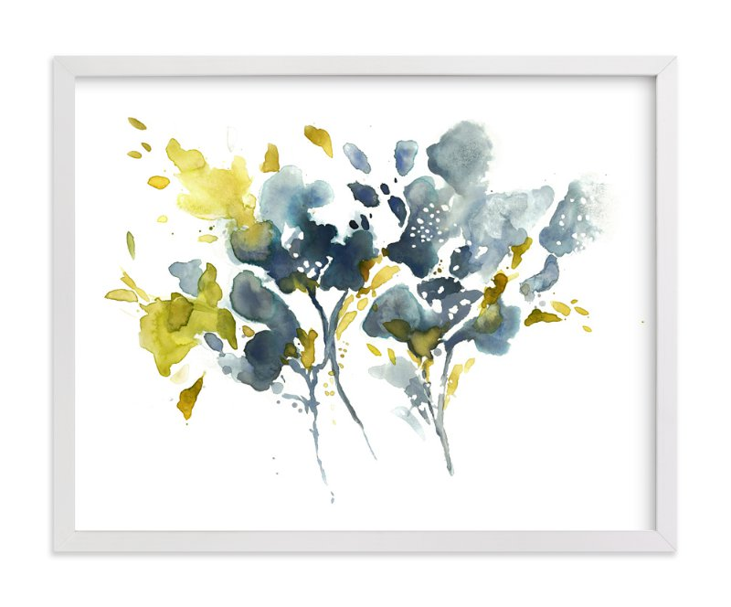 """""""Embracing Silence"""" - Art Print by Mya Bessette in beautiful frame options and a variety of sizes."""