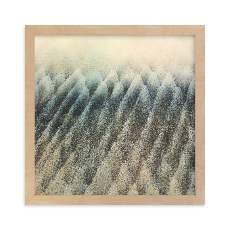 """""""Wave Trees Two"""" - Art Print by Erin Ehman in beautiful frame options and a variety of sizes."""