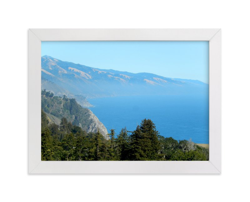 """Big Sur Nepenthe"" - Art Print by Jan Kessel in beautiful frame options and a variety of sizes."