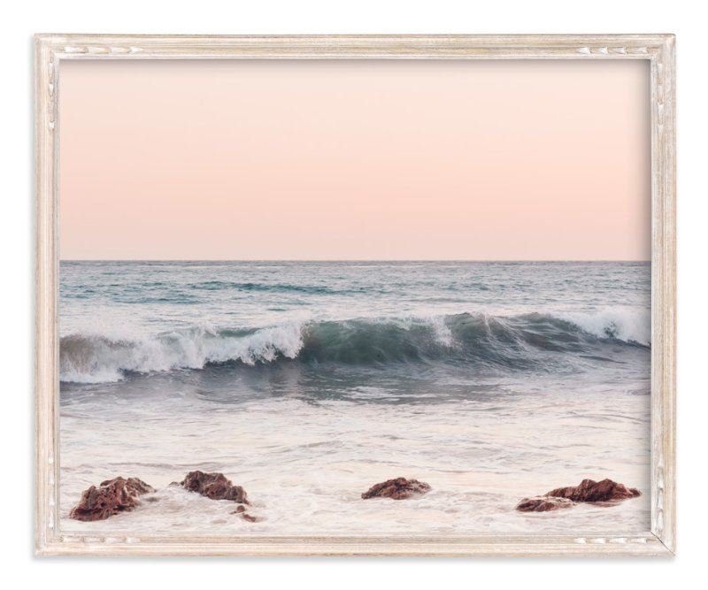 """""""Malibu View No.3"""" - Art Print by Kamala Nahas in beautiful frame options and a variety of sizes."""