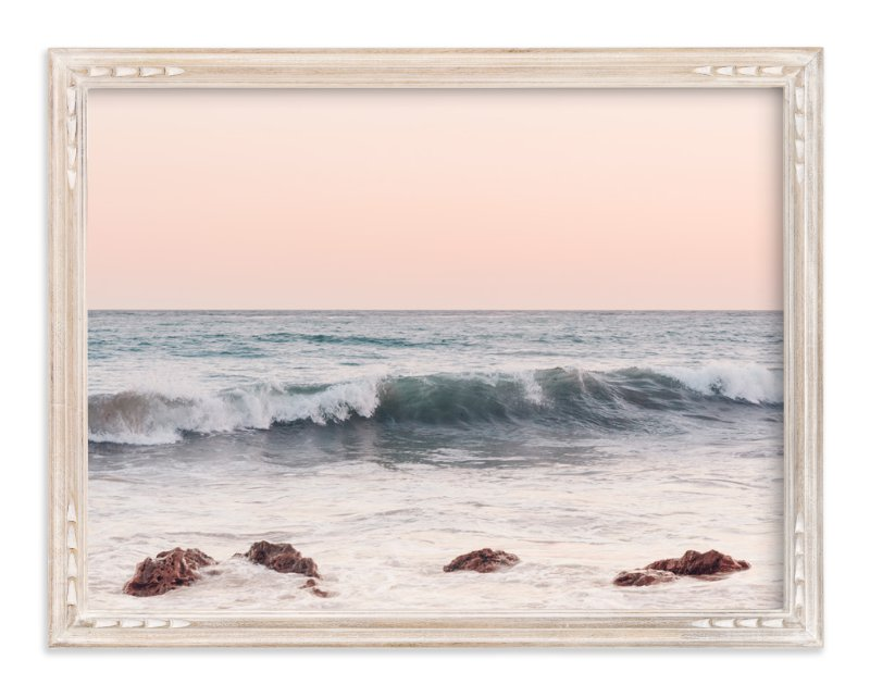 """Malibu View No.3"" - Art Print by Kamala Nahas in beautiful frame options and a variety of sizes."