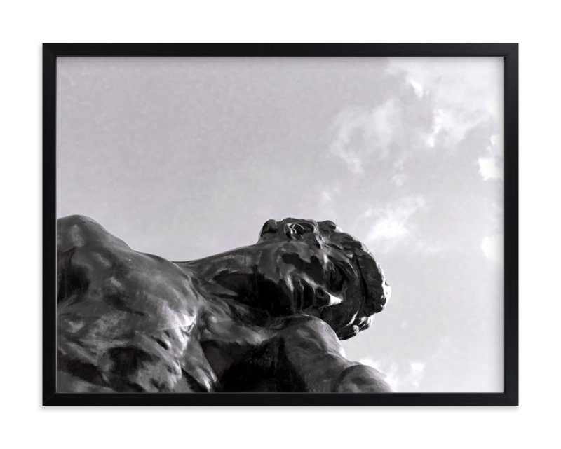 """Rodin's Sky"" - Art Print by Jill Fisher in beautiful frame options and a variety of sizes."